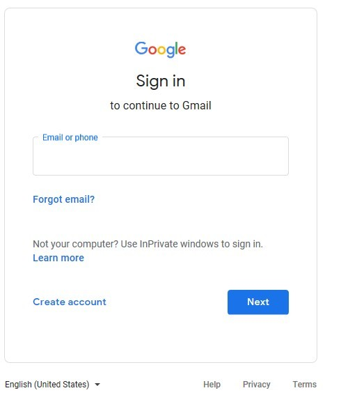 sign into my gmail