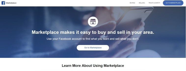 Buy and Sell On Facebook Pages