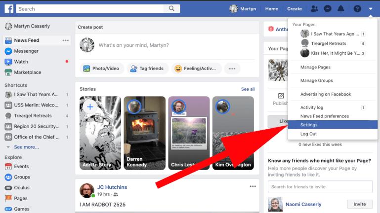 Unblock Facebook Friend