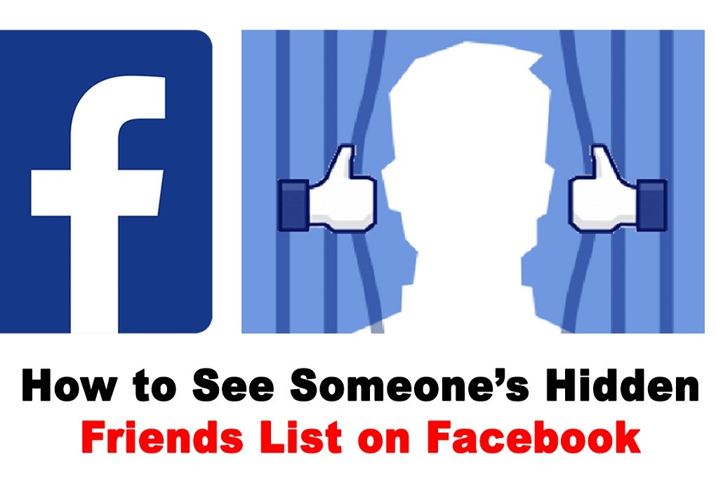 How to See Private Friends List on Facebook
