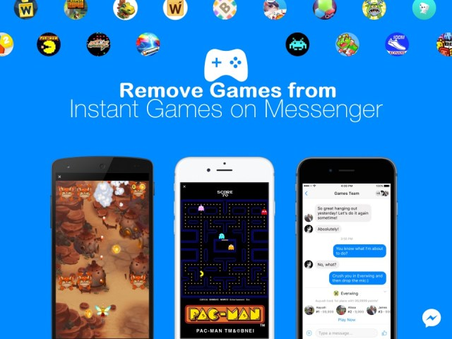 How to Remove Games in Fb Messenger