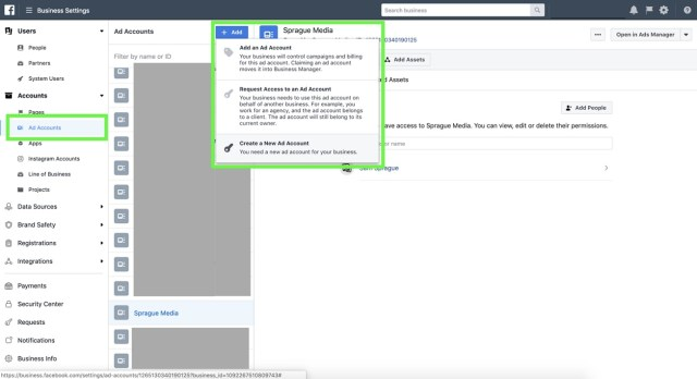 How to Create New AD Account Facebook