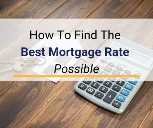 How to Find the Best Mortgage Rate for You