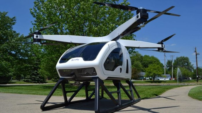 Fly Without Fuel with This Drone-Like Electric Hybrid Octocopter