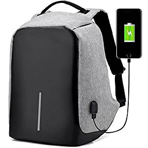 Anti-Theft Water Resistant Travel Backpack