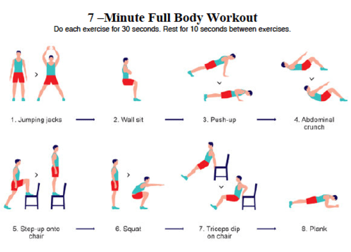 The Seven Minute Circuit