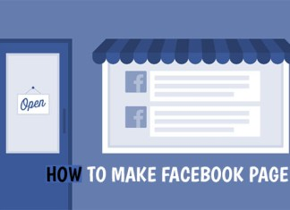 How to Make Facebook Page