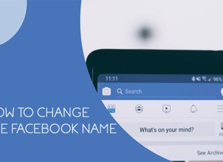 How to change the Facebook Name