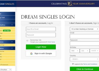 Dream Singles Login