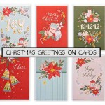 Christmas Greetings on Cards