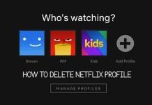 How to Delete Netflix Profile