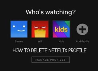 How to Delete Netflix Profile