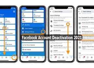 Facebook Account Deactivation 2021 - Deactivate Facebook Account | Delete Facebook Account