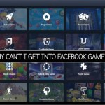 Why can't I Get Into Facebook Gameroom