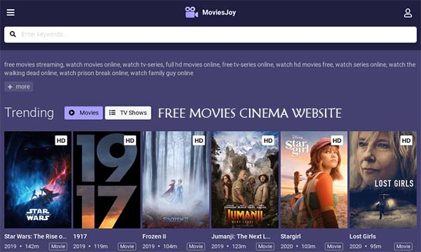 Free Movies Cinema Website