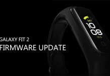 Galaxy Fit 2 Firmware Update