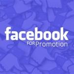 Facebook For Promotion