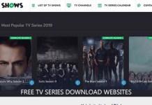 Free TV Series Download Websites