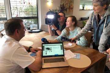 Das BR3 Filmteam war zu gast bei uns und hat einen Fernsehbeitrag für die Ausstrahlung in der Abendschau gedreht!