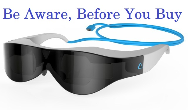things to be noticed when buying a vr headset