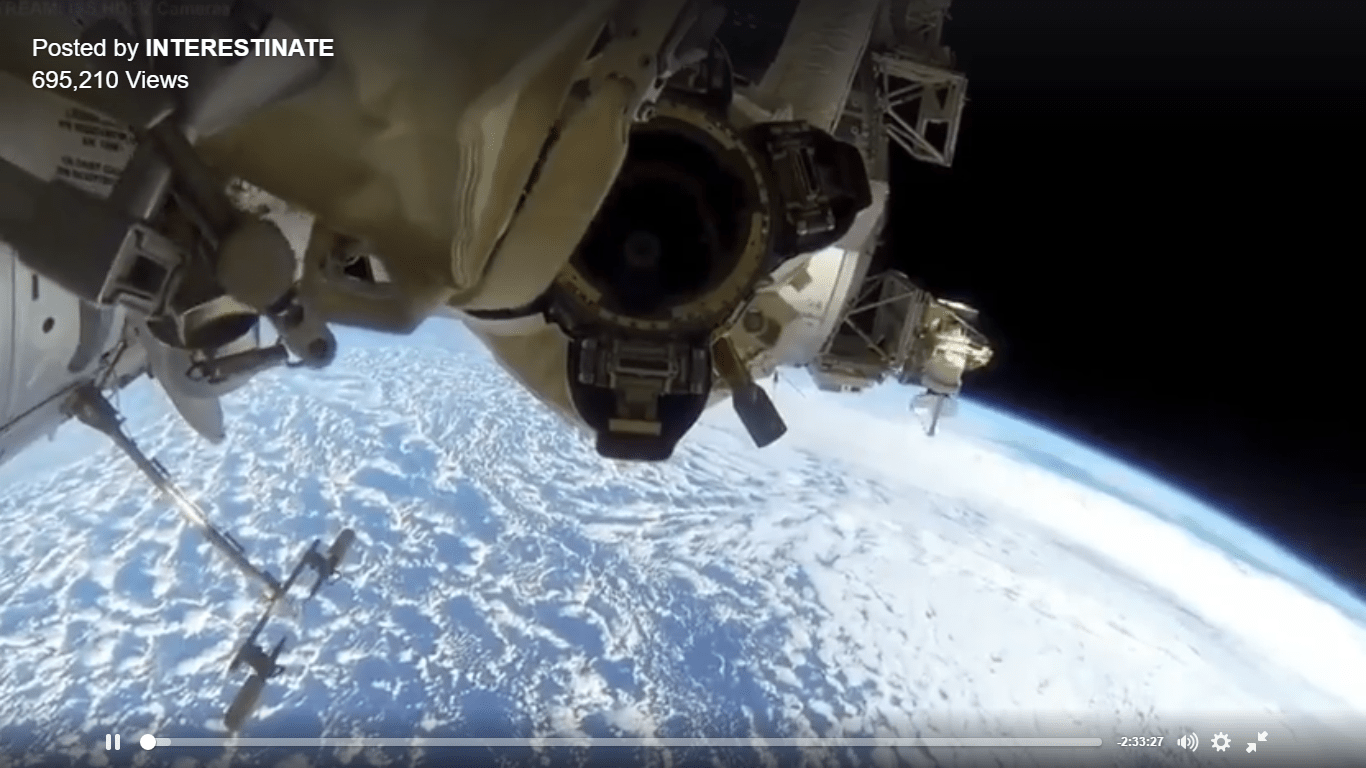INTERNATIONA SPACE STATION VIDEO