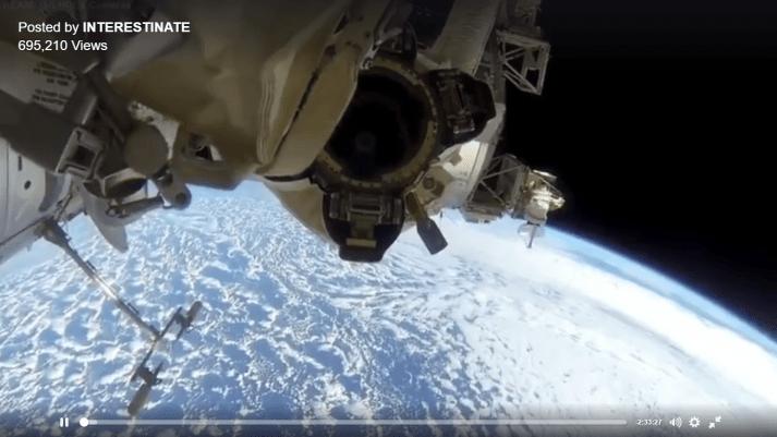 INTERNATIONA SPACE STATION VIDEO