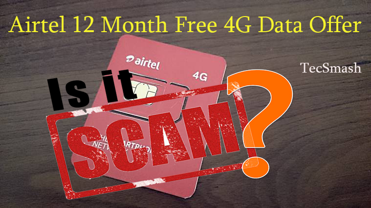 airtel free 4g data offer