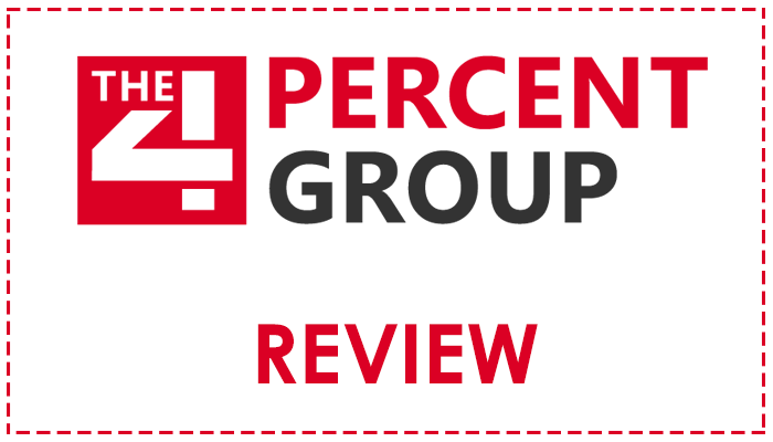 The Four Percent Group Review