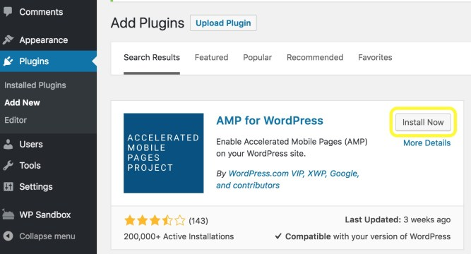 AMP-plugin-for-WordPress