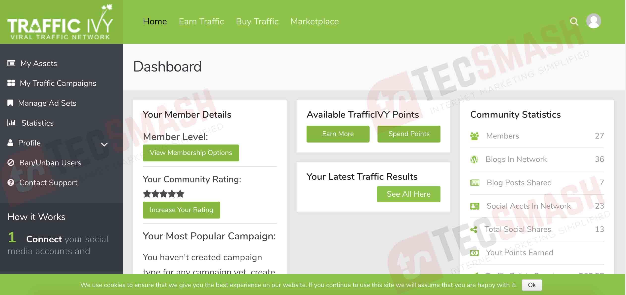 Traffic Ivy Dashboard