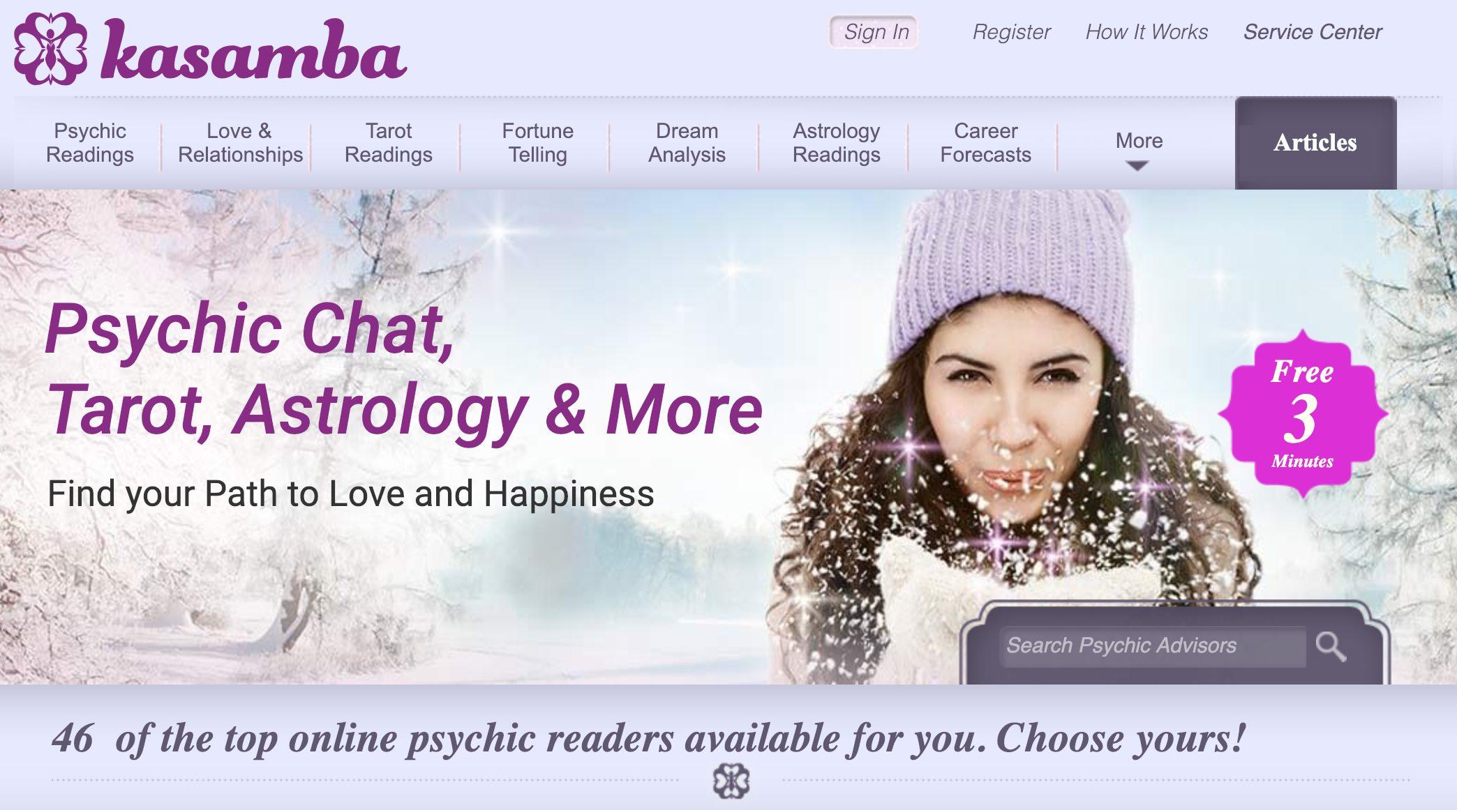 Kasamba Psychic Chat