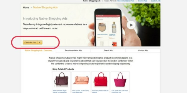 How to Set up Amazon Native Ads Code