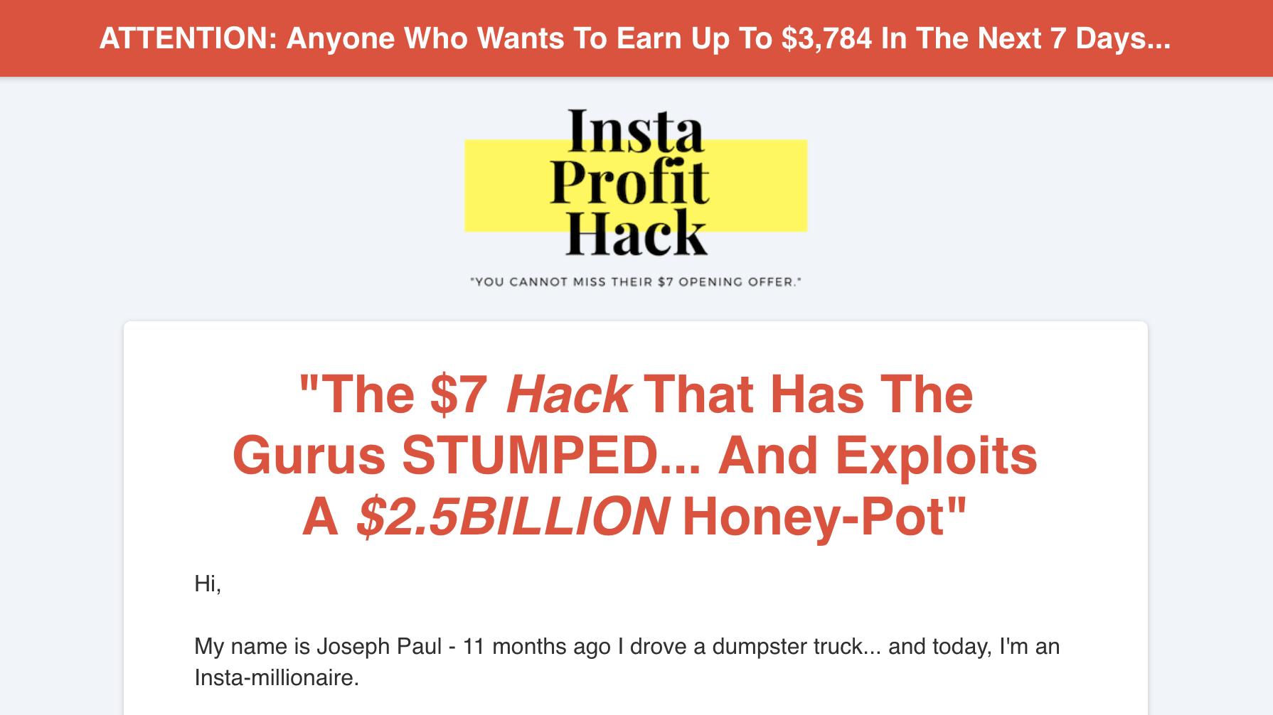 IG Profit Hack Review
