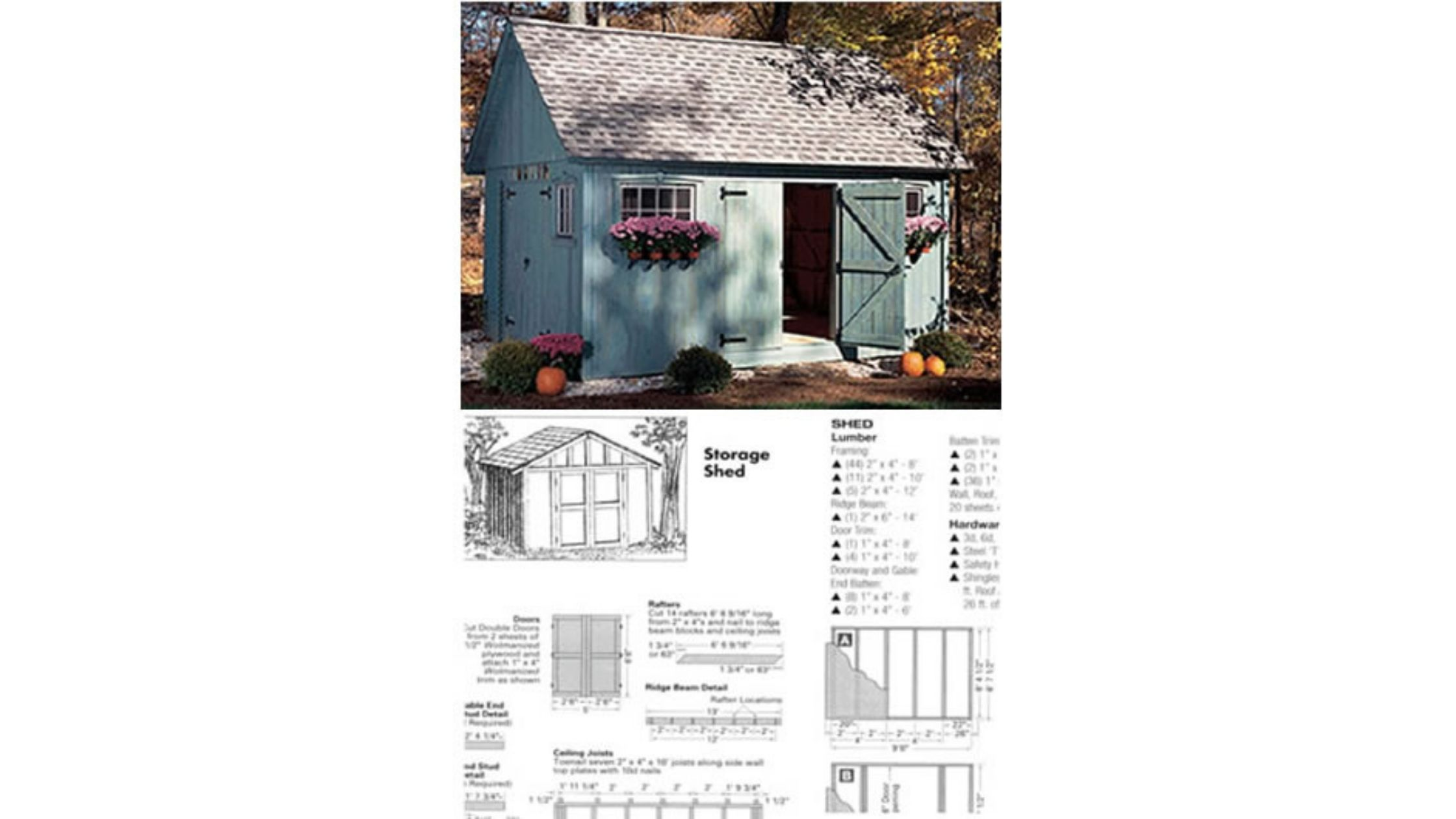 Ryan Shed Plans Review