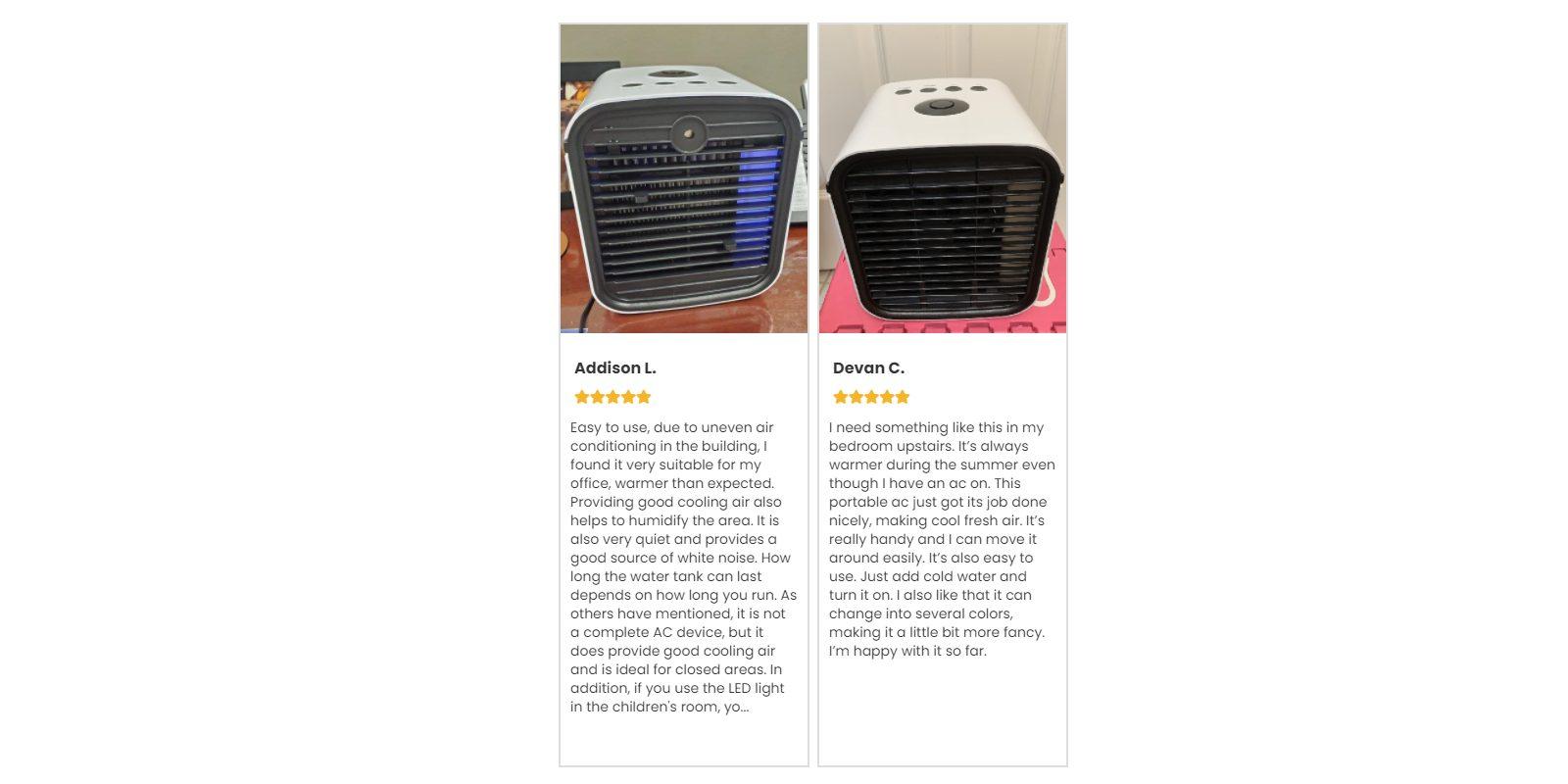 Chill AC customer Reviews