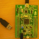 STM32F4 Discovery Board and USB Cable
