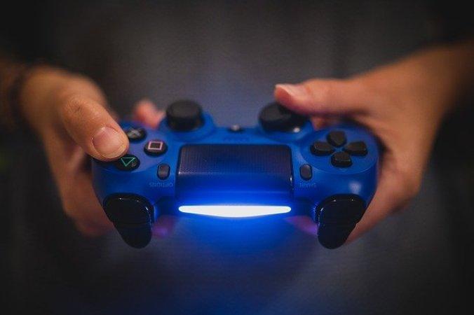 Ps4 Controller blue Light