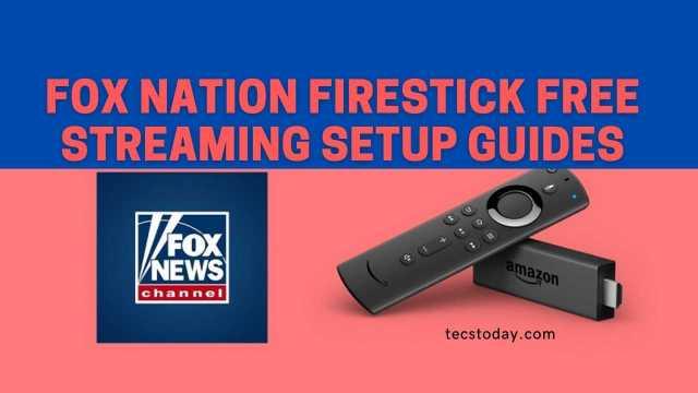 fox nation firestick