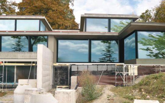 Villa am rechten Zürichsee-Ufer – Detail-Komplexität gemeistert!