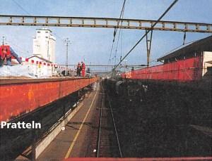 Perrondachanpassungen für Hupac-Korridore der SBB Strecke Basel - Olten - Burgdorf