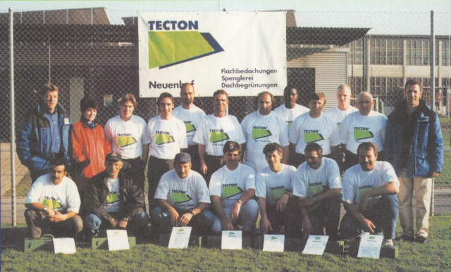 Die Crew der TECTON Flachdach AG, Neuenhof