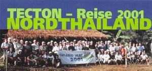 TECTON-Reise 2001