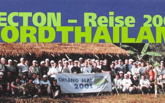 TECTON-Reise Nord-Thailand, 4. - 13. Januar 2001