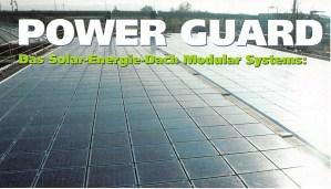 Power Guard - Das Solar-Energie-Dach Modular System