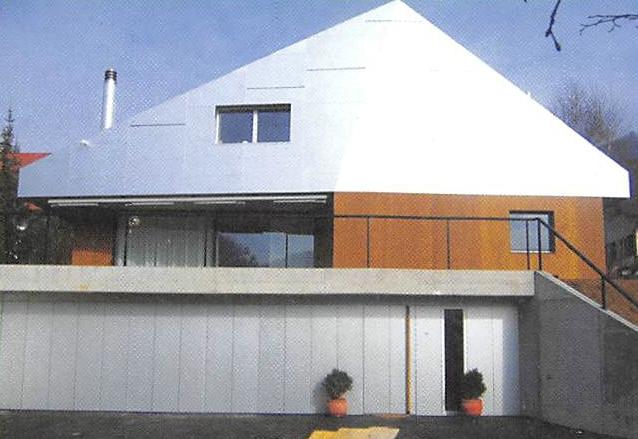 Dach- und Fassadengestaltung
