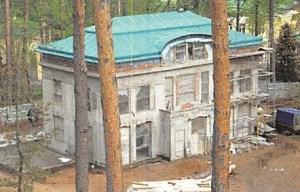 Neubau Wochenendehaus in Moskau