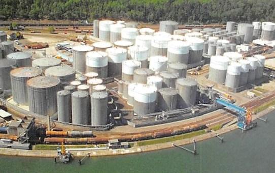 BP-Tanklager Auhafen 3 in Birsfelden Tanklagerabdichtungen - sichere Auffangwannen im Havariefall