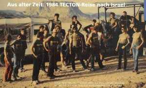 TECTON-Reise 1984 nach Israel