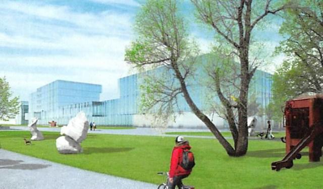 Würth Rorschach, Neubau Verwaltungszentrum