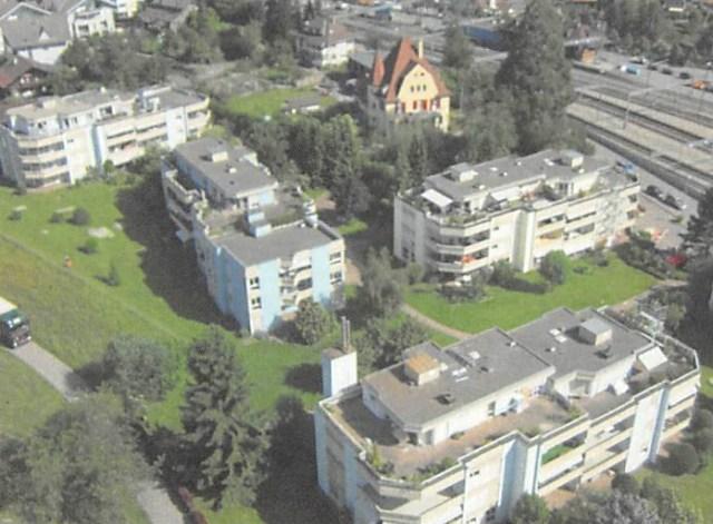 Flachdacharbeiten MFH Bahnhofstrasse Spiez
